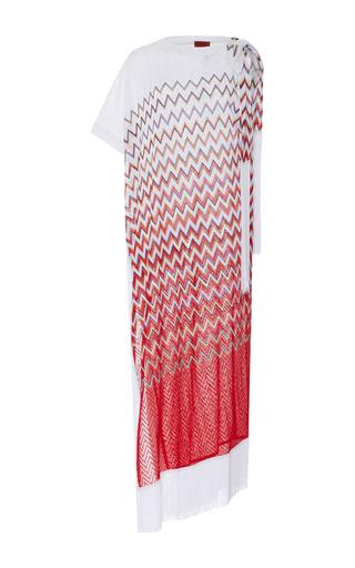 Medium missoni mare red fringe maxi dress