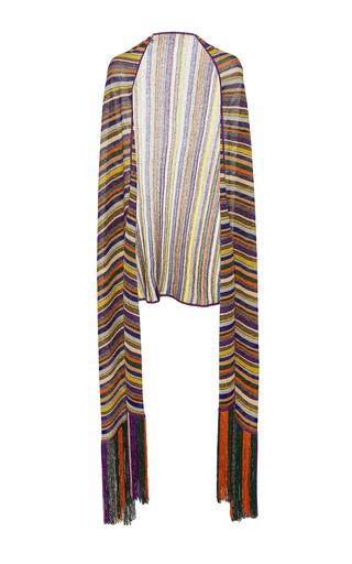 Medium missoni multi striped shawl