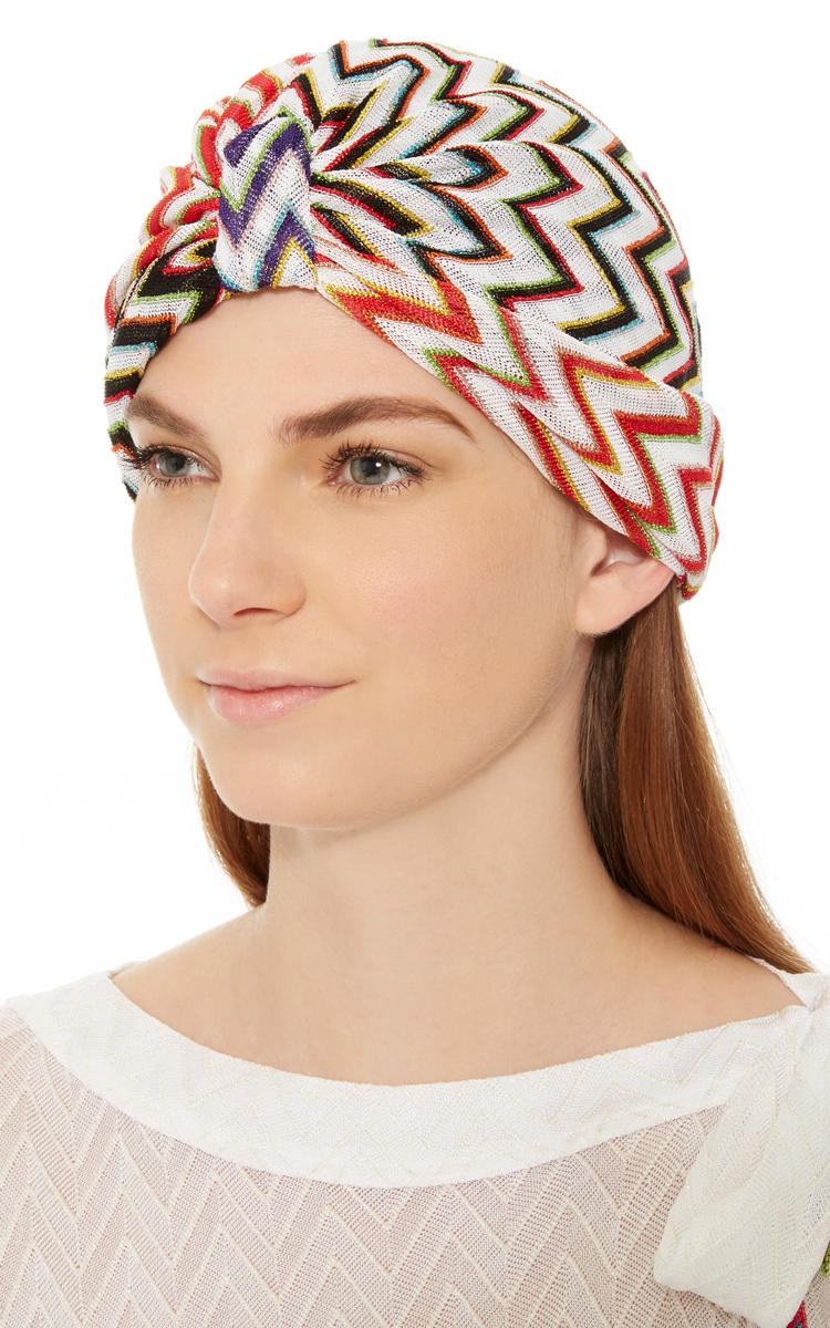 Multicolor Turban By Missoni Mare Moda Operandi