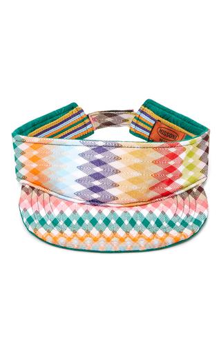 Medium missoni mare multi multicolor visor