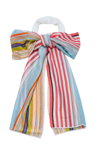 Medium missoni mare multi multicolor headscarf