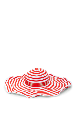 Medium missoni mare red striped sun hat