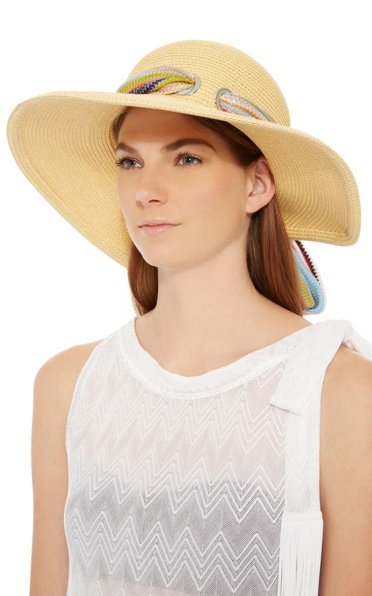 Scarf Sun Hat by Missoni Mare  062fe7fd489