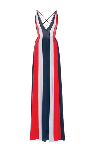 Medium gabriela hearst multi somerset mixed media silk dress