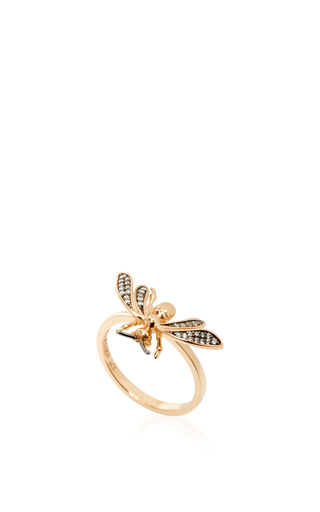 14 K Rose Gold Fauna Ring by AIDA BERGSEN Now Available on Moda Operandi