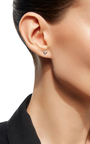 14 K Rose Gold Ivy Ear Stud And Climber by AIDA BERGSEN Now Available on Moda Operandi
