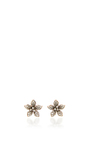 14 K Rose Gold Flora Flower Studs by AIDA BERGSEN Now Available on Moda Operandi