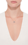 14 K Rose Gold Flora Flower Necklace by AIDA BERGSEN Now Available on Moda Operandi