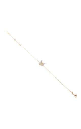Medium aida bergsen rose gold 14k rose gold fauna butterfly bracelet