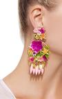 Fiesta Flower Earrings by MERCEDES SALAZAR Now Available on Moda Operandi