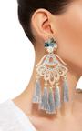 Petit Aretes Fiesta Earrings by MERCEDES SALAZAR Now Available on Moda Operandi
