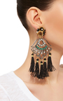 Petite Aretes Fiesta Earrings by MERCEDES SALAZAR Now Available on Moda Operandi
