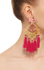 Petit Aretes Fiesta Earrings by MERCEDES SALAZAR Now Available on Moda Operandi