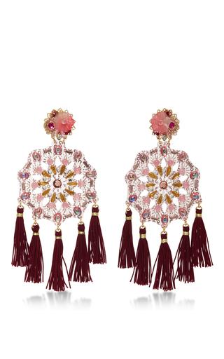 Medium mercedes salazar pink aretes fiesta earrings 3
