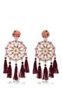 Aretes Fiesta Earrings by MERCEDES SALAZAR Now Available on Moda Operandi