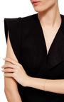 14 K Yellow Gold Luna Cuff by JADE TRAU Now Available on Moda Operandi