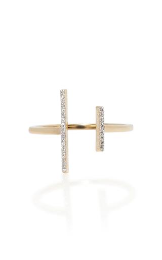 Medium mateo gold 14k yellow gold double bar ring