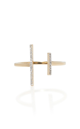 Medium mateo gold 14k yellow gold double bar ring