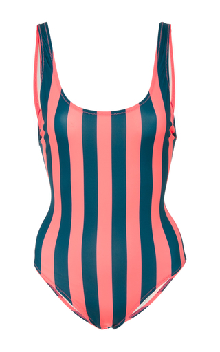 Medium solid striped stripe anne marie striped one piece 2