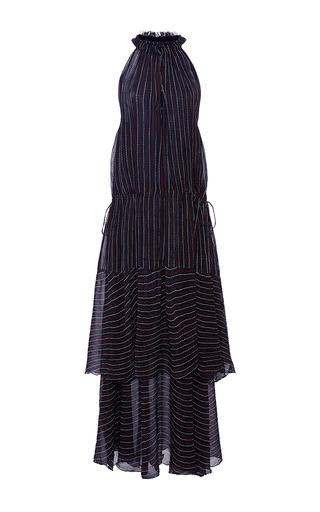 Medium apiece apart stripe pozos tiers maxi dress