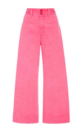 Medium apiece apart pink zinc pink cropped pants