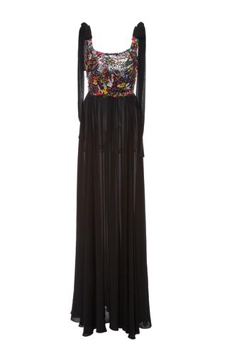 Medium elie saab multi beaded long dress