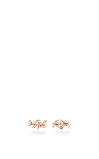 Baguette Dangle Earring Jacket by SUZANNE KALAN Now Available on Moda Operandi