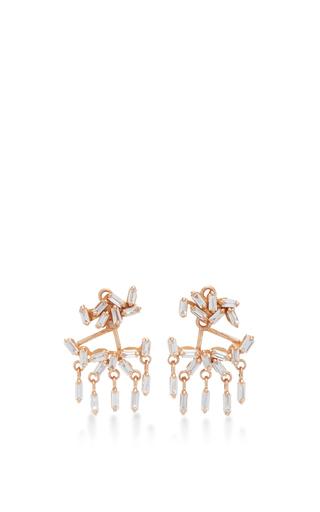 Medium suzanne kalan gold baguette dangle earring jacket