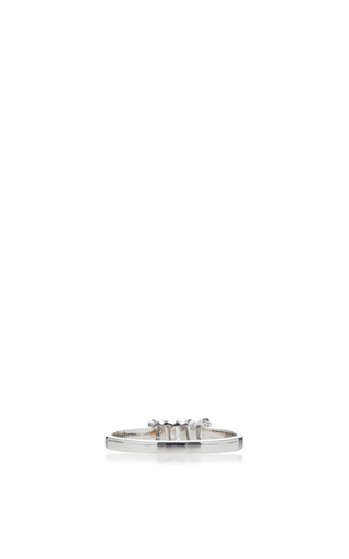 Pave & Baguette Band by SUZANNE KALAN Now Available on Moda Operandi