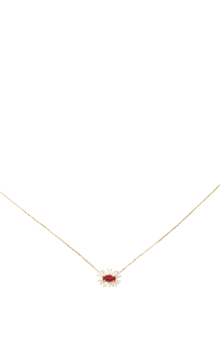 One Of A Kind Ruby Necklace by SUZANNE KALAN Now Available on Moda Operandi
