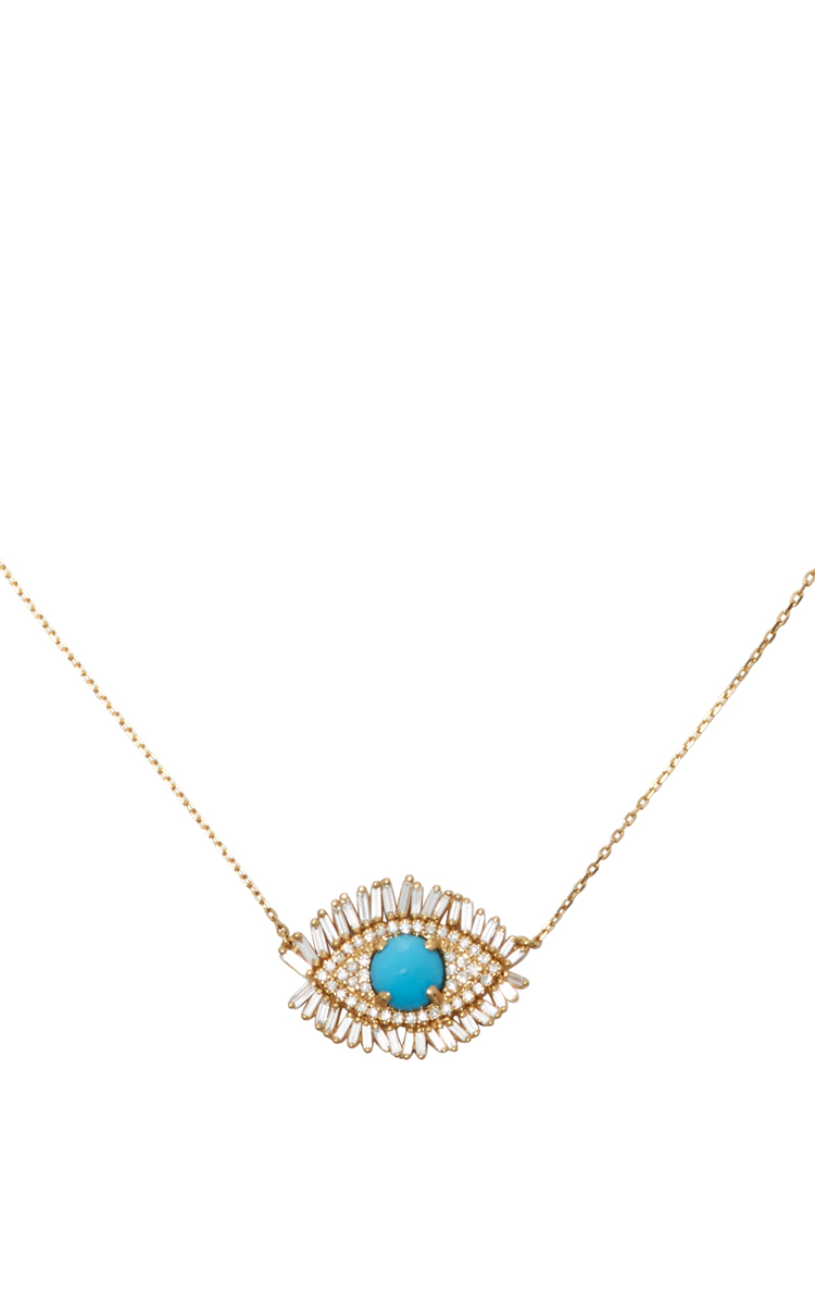necklace silver townhome eye tai taiseyen evil