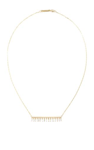 Dangle Long Bar Necklace by SUZANNE KALAN Now Available on Moda Operandi