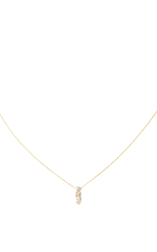 Medium suzanne kalan gold vertical bar necklace