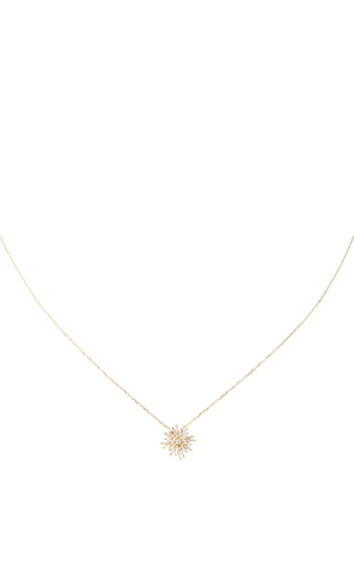 Mini Sunburst Necklace by SUZANNE KALAN Now Available on Moda Operandi