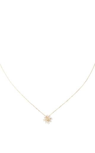 Medium suzanne kalan gold mini sunburst necklace