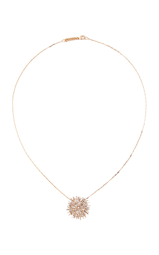Large Sunburst Necklace by SUZANNE KALAN Now Available on Moda Operandi