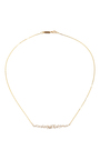 Fireworks Graduated Bar Necklace by SUZANNE KALAN Now Available on Moda Operandi
