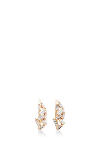 Medium suzanne kalan gold fireworks huggie earring
