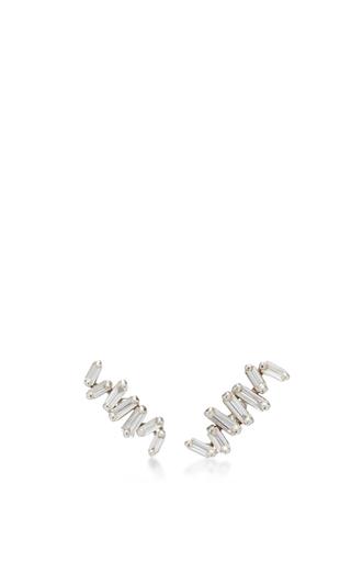 Medium suzanne kalan silver zig zag post earring