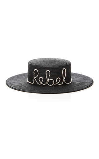 Medium eugenia kim black rebel sun hat