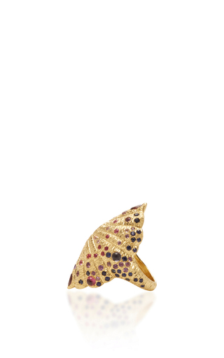 18 K Yellow Gold Bear Paw Ring by VENYX Now Available on Moda Operandi