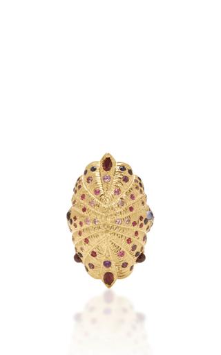 Medium venyx gold 18k yellow gold bear paw ring