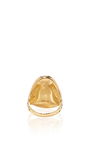 18 K Yellow Gold Una Rainbow Fish Ring by VENYX Now Available on Moda Operandi