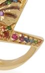 18 K Yellow Gold Naida Rainbow Ring by VENYX Now Available on Moda Operandi