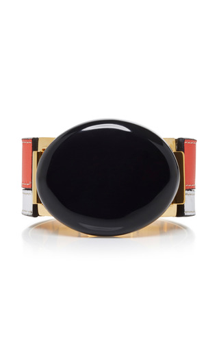 Medium marni black bracelet with resin
