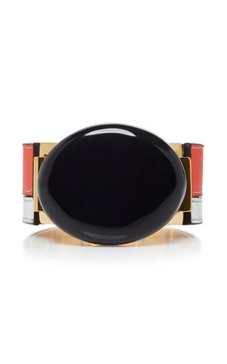 Medium marni black bracelet with resin