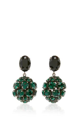 Medium marni green green strass earring