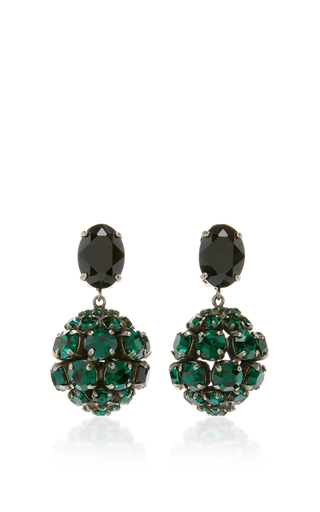 Medium marni green green strass earring