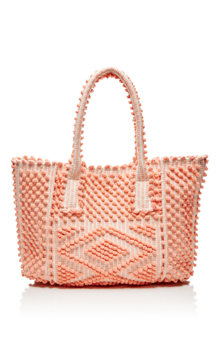 Medium antonello coral urtei large tote