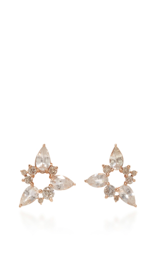Medium fernando jorge gold electric spark stud earrings